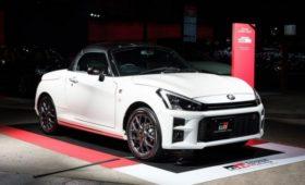 Крошечный родстер Daihatsu мимикрирует под «заряженные» Toyota