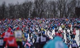 Путин направил приветствие участникам гонки «Лыжня России»