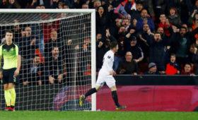 «Валенсия» вышла в1/8финала Лиги Европы, обыграв «Селтик»
