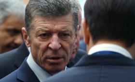 Козак назвал условие выплат компенсаций от «грязной» нефти в «Дружбе»