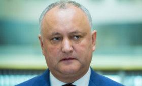 Додон решил просить у России скидку на газ для Молдавии