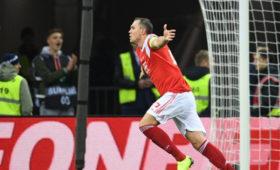 Россия победила Шотландию вотборе Евро-2020