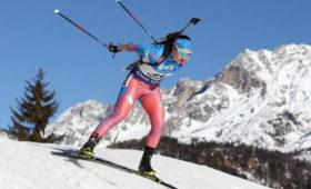 Биатлонистка Подчуфарова неуспеет перейти всборную Словении доначала зимнего сезона