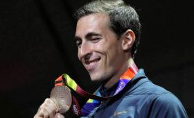 Шубенков выиграл забег на110мсбарьерами наВсемирных военных играх