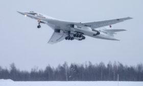 Стратегический бомбардировщик Ту-160М передали на испытания