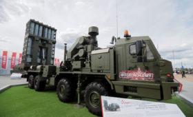Военные получили первый комплект зенитной ракетной системы С-350 «Витязь»