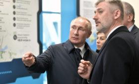Путин поделился впечатлениями от поездки по Крымскому мосту
