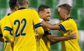 Спартаковец Ларссон принес Швеции победу надМолдавией