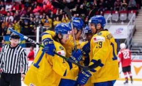 Швеция в6-йраззавоевала бронзу МЧМ