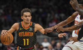 «Атланта» обыграла «Нью-Йорк» вматче НБАсдвумя овертаймами, Янгнабрал 48очков