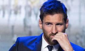 Месси назван лучшим футболистом мира запоследние 25лет