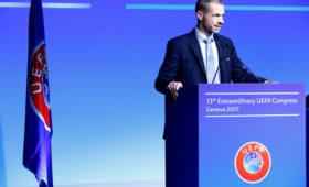 Финал вПетербурге перенесен: УЕФА утвердил формат ЛЧ
