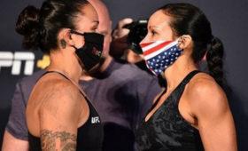 Подруги-лесбиянки выиграли поединки водин вечер боёв UFC