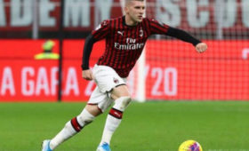 «Милан» обыграл «Рому» вСерии А