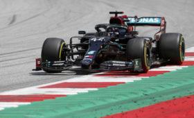 Хэмилтон стал лучшим втретьей практике австрийского этапа «Формулы-1»