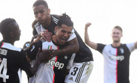ГолРоналду помог «Ювентусу» обыграть «Торино» вСерии А