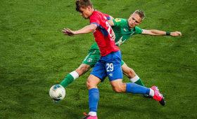 ЦСКА и«Рубин» сыграли вничью вматче чемпионата России пофутболу