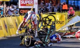 Велогонка закончилась комой участника