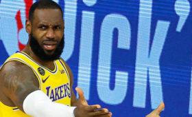 «Лейкерс» установили второй исторический антирекорд НБАвпервом матче плей-офф
