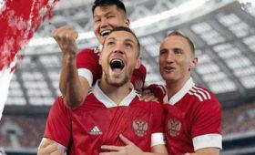 Представлена форма сборной России пофутболу кЕвро-2020