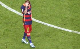 Месси отказался приехать насборы «Барселоны»
