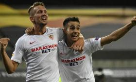 «Севилья» вырвала победу у«Манчестер Юнайтед» вполуфинале Лиги Европы