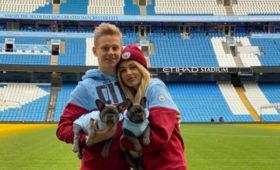 Украинская телеведущая Влада Седан рассказала, чтостала женой игрока «Манчестер Сити» Зинченко
