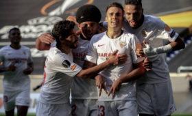 «Севилья» и«Байер» вышли вчетвертьфинал Лиги Европы