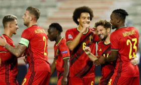 Бельгия разгромила Исландию вматче Лиги наций УЕФА