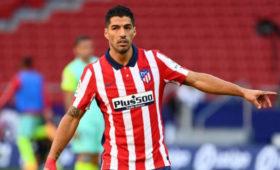 Суарес установил рекорд впервом матче за«Атлетико»