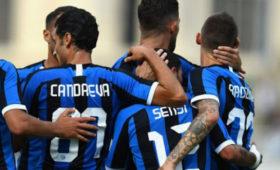 «Интер» вконтрольном матче разгромил «Лугано»
