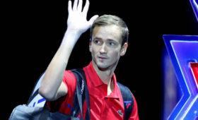 Российский теннисист Медведев квалифицировался наИтоговый турнир ATP