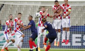 Франция обыграла Хорватию вматче Лиги наций