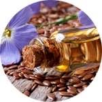 Льняное масло содержится в каплях Флатузан