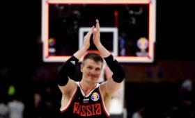Российские баскетболисты обыграли эстонцев вматче отборочного турнира ЧЕ-2022